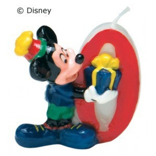 Mickey Mouse lys nr. 0-30