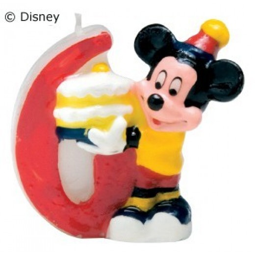 Mickey Mouse lys nr. 6-30