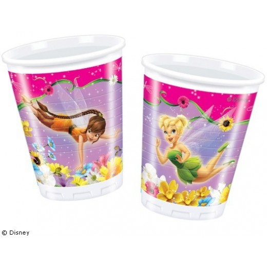Disney Feer plastikkopper 200 ml 10 stk.-3