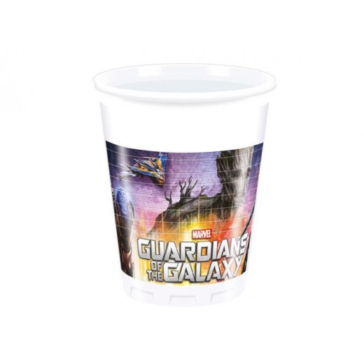 Guardians of the Galaxy plastikkopper 200 ml 8 stk-30