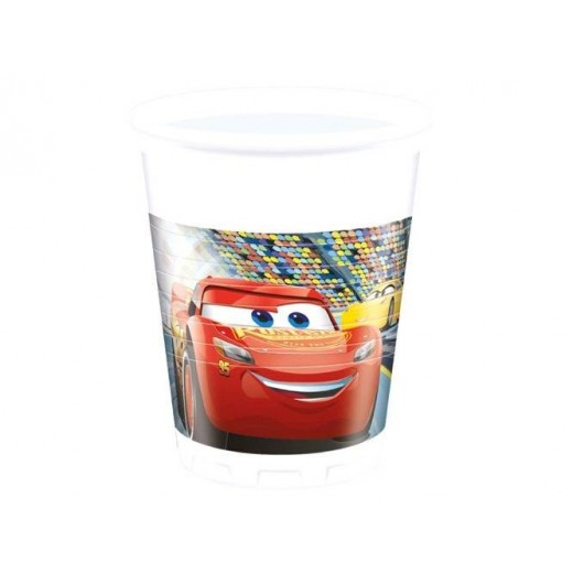 Cars 3 plastikkopper 200 ml 8 stk.-3
