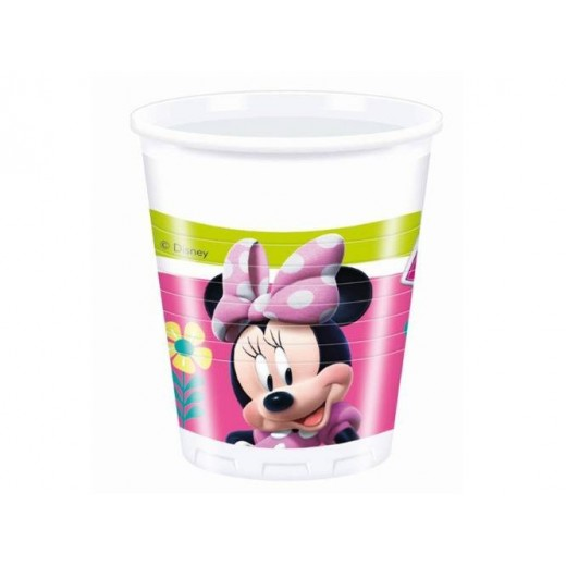 Minnie Mouse Happy Helpers plastikkopper 200 ml 8 stk.-3