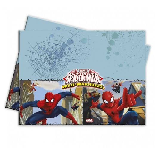 SpidermanTheUltimateSpidermanwebwarriorsplastikdug120x180cm-30