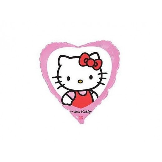 Hello Kitty folie ballon 46 cm 1 stk.-30