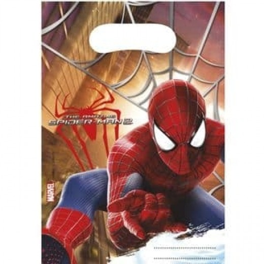 Spidermanpartybags6stk-31