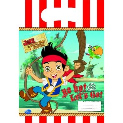 """Jake and Piraterne """"party bags"""" 6 stk.-20"""