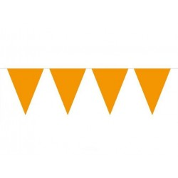 X-Large orange banner/guirlande 10 meter 1 stk.-20
