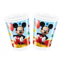 Mickey Mouse playful plastikkopper 200 ml 8 stk.-20