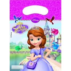 "Prinsesse Sofia ""party bags"" 6 stk.-20"