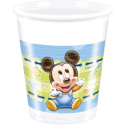 Mickey Baby plastikkopper 200 ml 8 stk-20