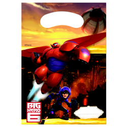 "Big Hero 6 ""party bags"" 6 stk-20"