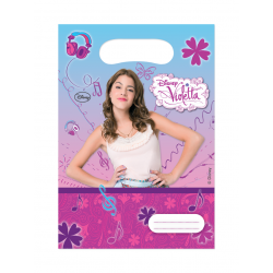 """Violetta """"party bags"""" 6 stk-20"""