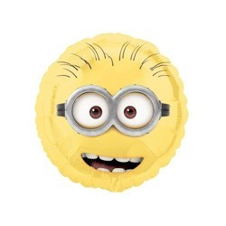 Despicable Me Minions Happy Birthday Folie Ballon 47 cm. 1 stk.-20