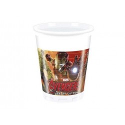 Avengers Age of Ultron plastikkopper 200 ml 8 stk-20