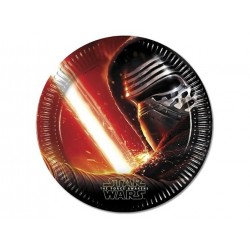 Star Wars the Force Awakens paptallerkner 23 cm 8 stk.-20