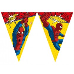 Spiderman 2 Flag Banner 9 trekanter 230 cm 1 stk. 230cm-20