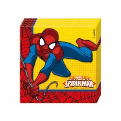 The amazing Spiderman servietter i 33x33 cm 20 stk-20