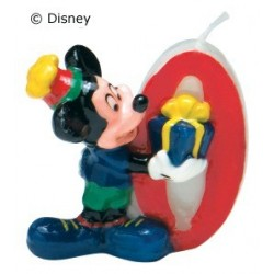 Mickey Mouse lys nr. 0-20