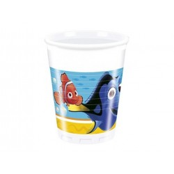 Find Dory plastikkopper 200 ml 10 stk.-20