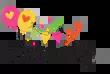 Bordnummer, hvid nummer 2 1 stk.-20