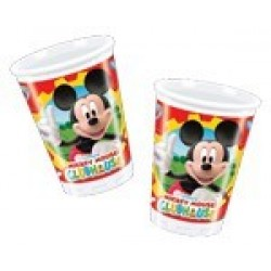 Mickey Mouse plastikkopper 200 ml 10 stk.-20