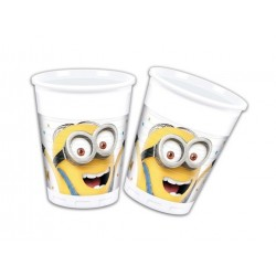 Minions party plastikkopper 200 ml 8 stk-20