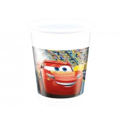 Cars 3 plastikkopper 200 ml 8 stk.-20