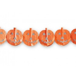 Orange Halloween banner 300 cm 1 stk-20