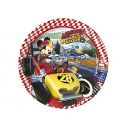 Mickey Mouse og The Roadster Racers paptallerkner 23 cm 8 stk.-20