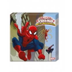 The ultimate Spiderman web warriors servietter i 33x33 cm 20 stk-20
