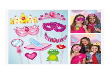 Prinsesse fotosæt/masker 10 stk forskellige-20