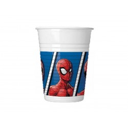 "Spiderman ""Team Up"" plastikkopper 200 ml-8 stk.-20"