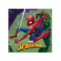 Spiderman Team Up servietter i 33x33 cm 20 stk-20