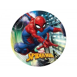 Spiderman Team Up paptallerkner 23 cm 8 stk.-20