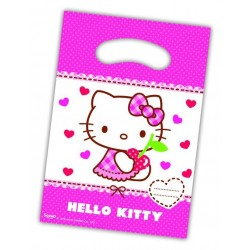 """Hello Kitty """"party bags"""" 6 stk.-20"""