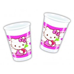 Hello Kitty plastikkopper 200 ml 8 stk.-20